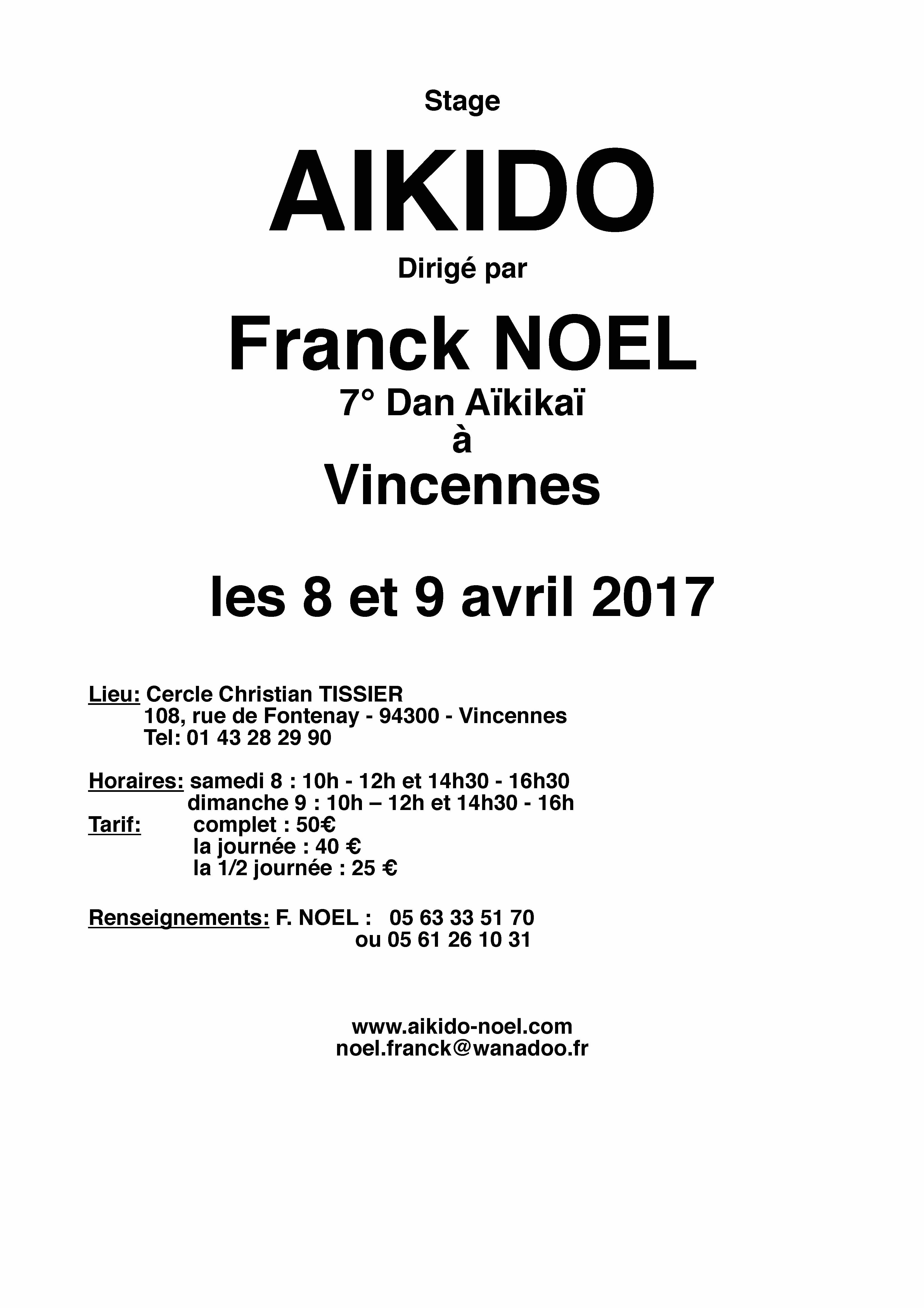 Affiche Franck