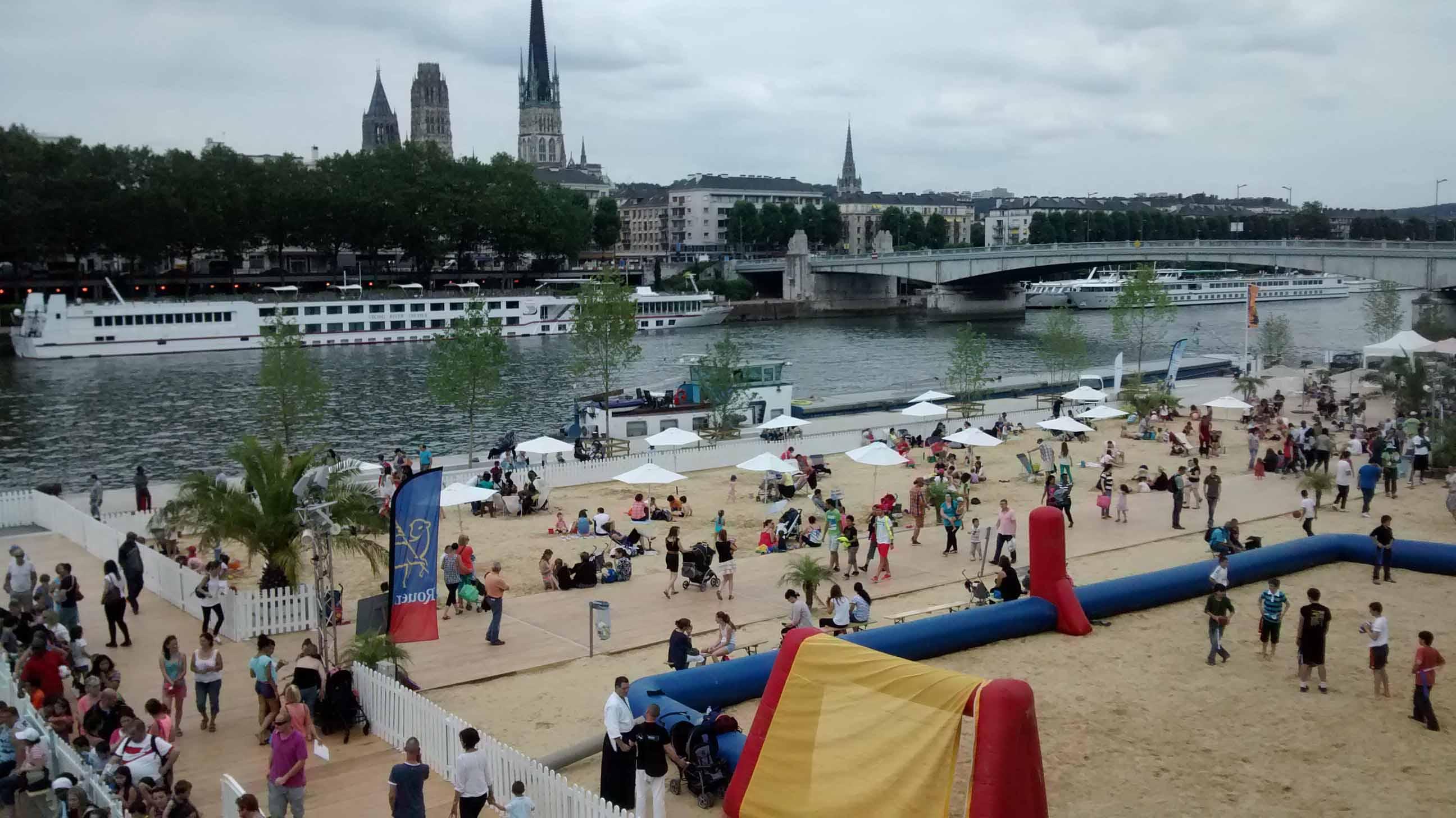 Rouen sur Mer 2014