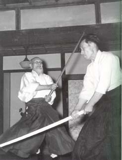 O'Senseï et son fils Kishomaru