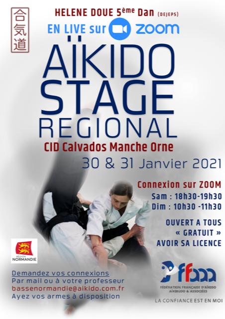 Stage régional du 30 et 31 janvier 2021