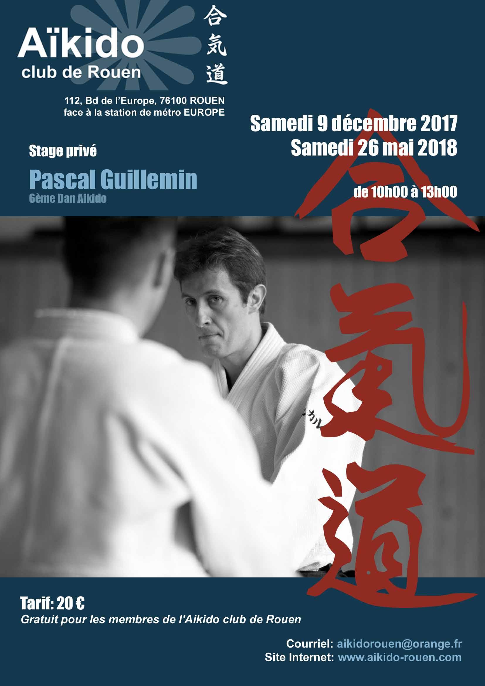 Pascal Guillemin à Rouen le 9 déc