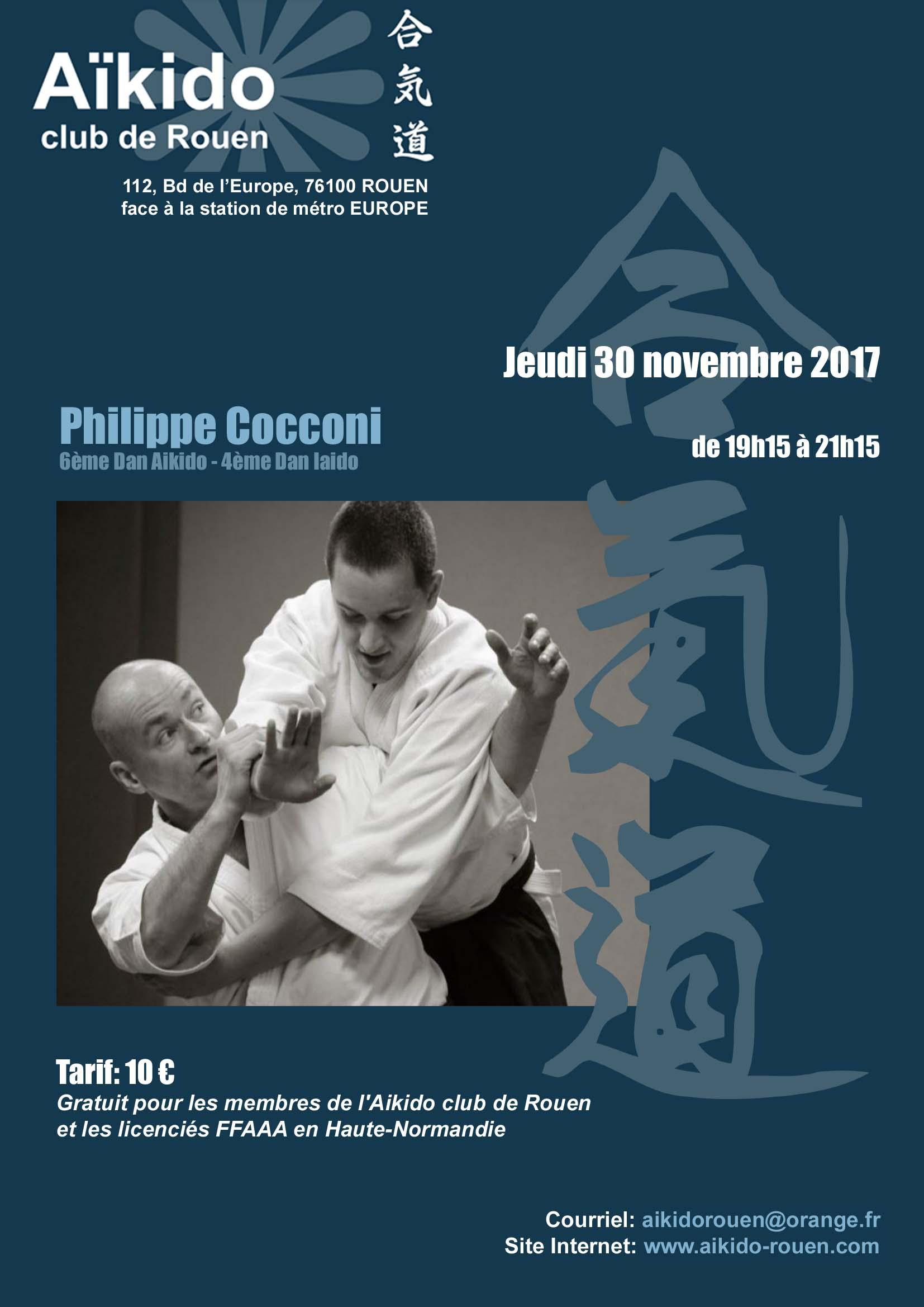 Philippe Cocconi à Rouen