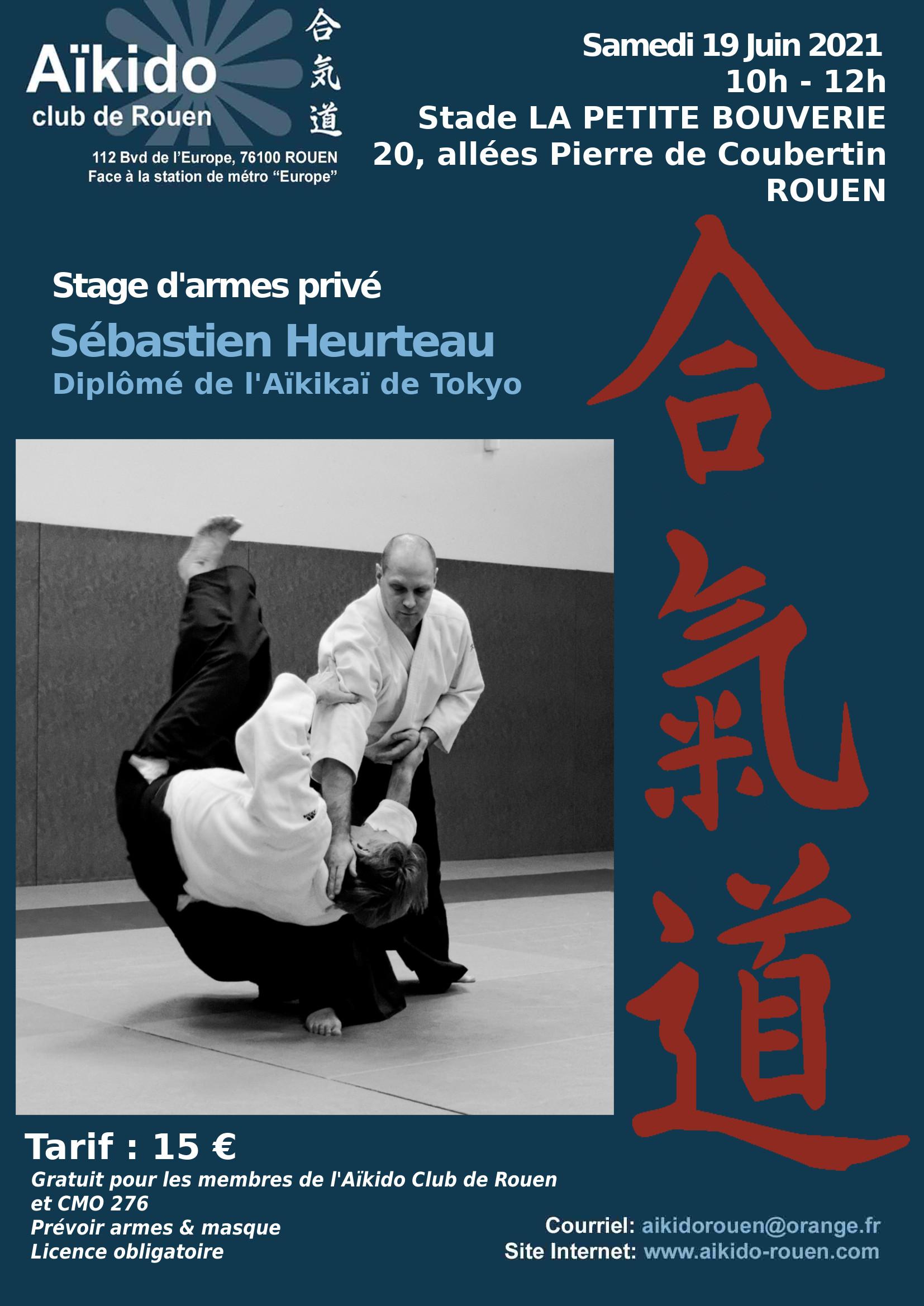 Stage animé par S. Heurteau le 19 Juin 21