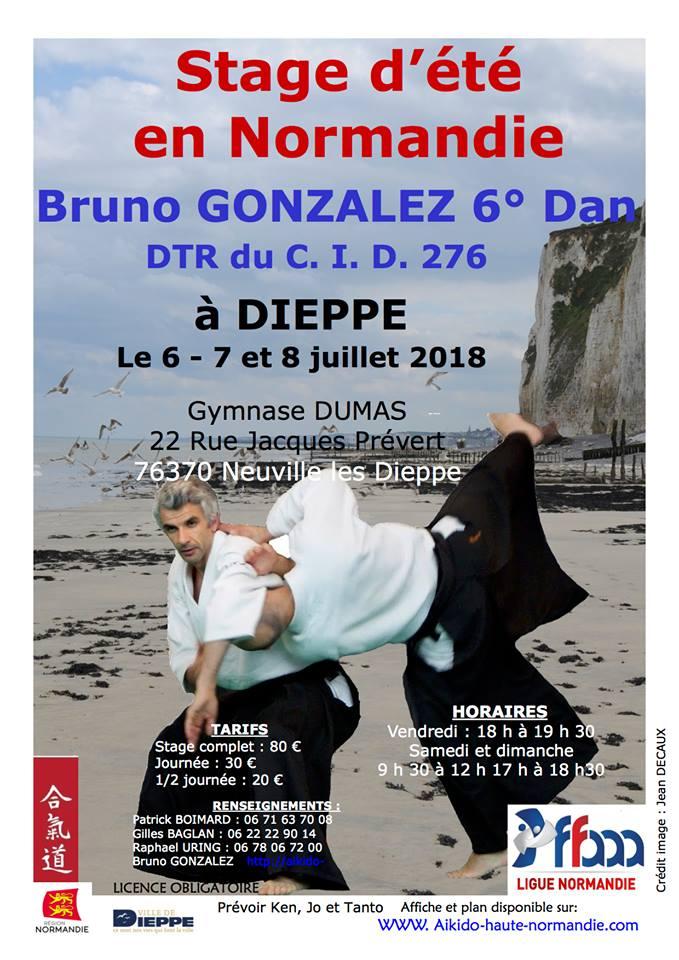 Stage d'été 2018 à Dieppe