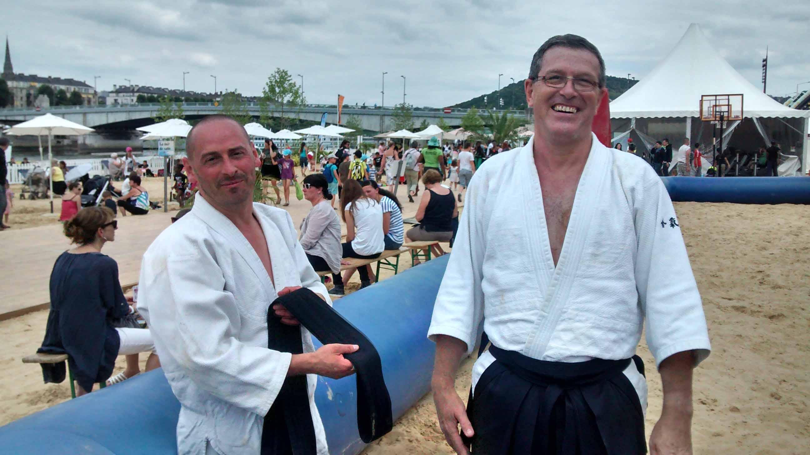 L'Aïkido club à Rouen sur Mer