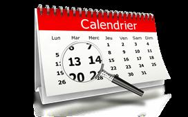 Mise à jour du calendrier
