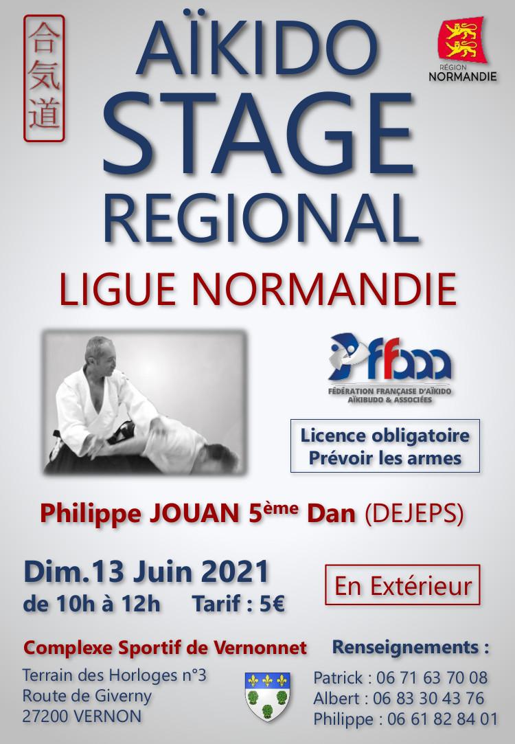 Stage animé par Philippe Jouan le 13 Juin