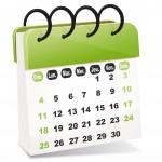 Mise à jour du calendrier 13-10-2017