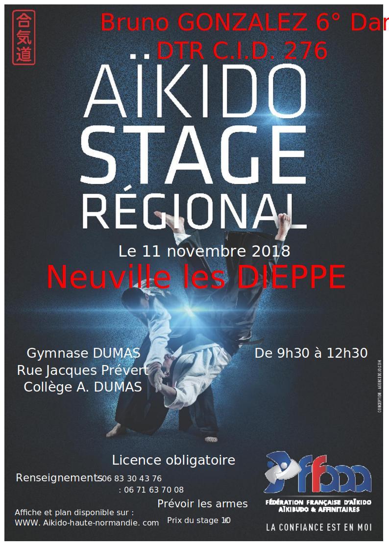 Stage Régional à Dieppe 2018