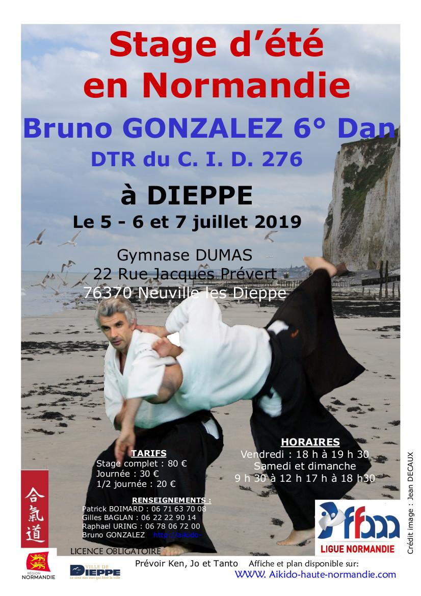 Changement horaires stage de Dieppe